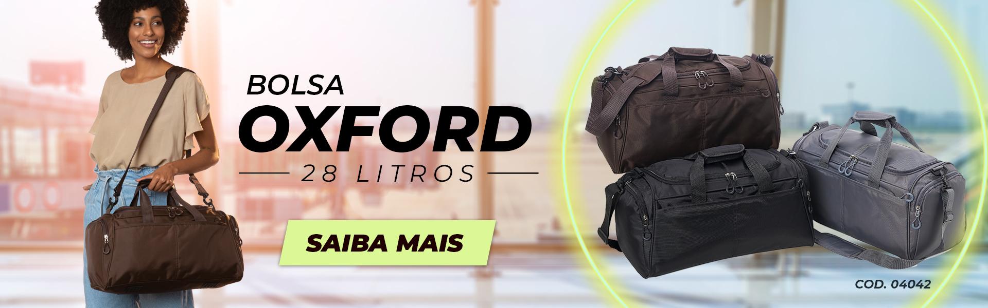 BOLSA OXFORD LANÇAMENTO