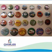 Botons pastilhados diversos